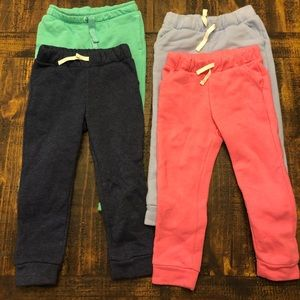 4 girls size 3T sweatpants from Cat & Jack